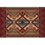 image for Las Cruces Southwest Woven Placemat 8-Pc
