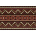 image for Los Ranchos Southwest Woven Placemat 8-Pc