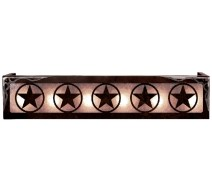image for Texas Lonestar Western Vanity Light Box 2 Sizes