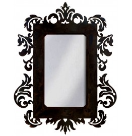 image for Fancy Old West Style Damask Design Wall Mirror 36 x 25