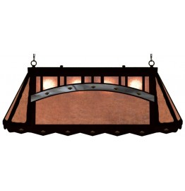 image for Southwest Mission Style Galley Pool Table Light