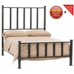image for Mission Forged Iron Bed Full Size Complete & FREE SHEETS