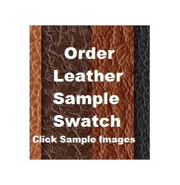 image for Z Wooded River Sample Leather Swatch