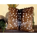 image for Axis Chital Deer Hide Throw Pillow 20 x 20
