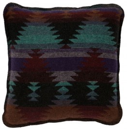 image for Painted Desert II Southwestern Throw Pillow 20 x 20