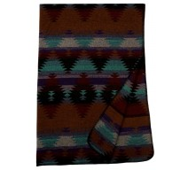 image for Painted Desert II Throw Blanket 60 x 72