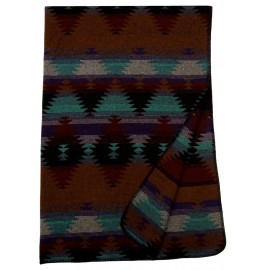 image for Painted Desert III Throw Blanket 60 x 72
