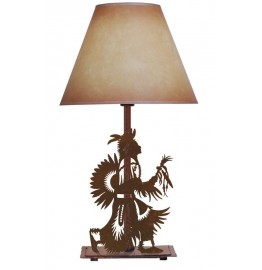 image for Rain Dancer Southwest Table Lamp & Shade 25""
