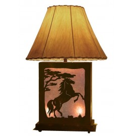 image for Horse Rearing Scenic Lamp & Nightlight 25 inch