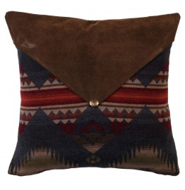 image for Southwestern Faux Alligator & Indian Blanket Eurosham