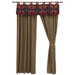 image for Socorro II Valance and Drapery Set 84 long
