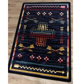 image for Shoot Me Straight Southwestern Rug Various Sizes by American Dakota