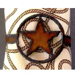 image for Lone Star Rustic Western Napkin Rings Set of 8