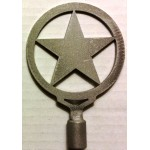 image for Texas Lone Star Rustic Lamp Finial Topper