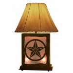image for Texas Lone Star Table Lamp & Nightlight 25""