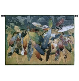 Valiance Feathers Southwestern Wall Tapestry 53 x 38