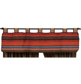 image for Tombstone III Saddleblanket Tab Top Valance 60 x 15