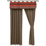 image for Tombstone III Valance and Caswell Stone Drapery Set 84 long
