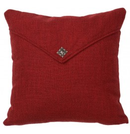 image for Luminaria Red Accent Throw Pillow 16 x 16