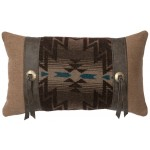 image for Luminaria Pillow of Caprice Cashmere 12x20
