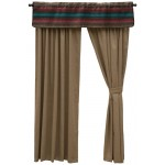 image for Rio Rancho Southwest Valance and Drapery Set 84 long