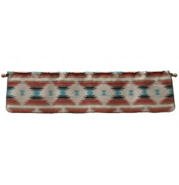 image for Painted Sky Rod Pocket Valance 60 x 15