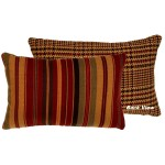 image for Bandera II Reversible Throw Pillow 12 x 18