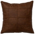 image for Butte Leather Throw Pillow 16 x 16