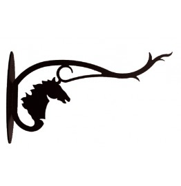 image for Horse Head Wall Mounted Hanger 12 inch