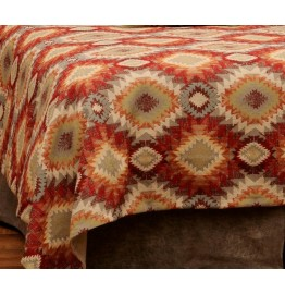 image for Yuma Sol Southwest Coverlet by Wooded River