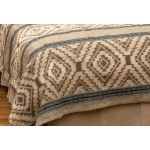image for Adelanto Azure Coverlet by Wooded River