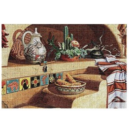 image for Adobe Dreams Southwest Still Life Woven Placemat Set of 8