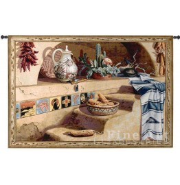 image for Adobe Dreams Southwestern Wall Tapestry & Rod