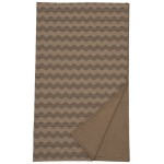 image for Leroux Chevron Reversible Throw Blanket 55 x 72