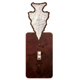 image for Arrowhead Burnished Steel Switch Plate Outlet Cover 3 Colors