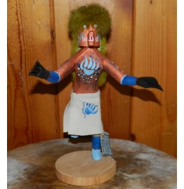 image for BEAR Kachina Navajo Wood Carved 12 inch