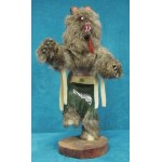 image for BEAR Kachina Doll Navajo Made 3 sizes