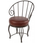image for Bella Iron Arm Chair