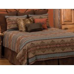 image for Bison Ridge II DELUXE Southwest Bed Ensemble Set