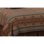 image for Bison Ridge II Southwest Geometrical Pattern Bedspread