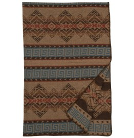 image for Bison Ridge II Southwest Geometric Throw Blanket 60 x 72