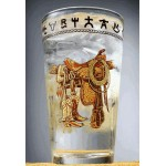image for Boots & Saddle Western Ice Tea Glass 8 pc Set 20 oz