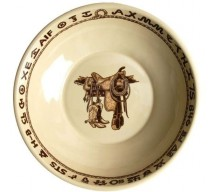 image for Boots & Saddle Western Bonanza Serving Bowl