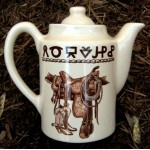image for Boots & Saddle Western Teapot Coffee Server