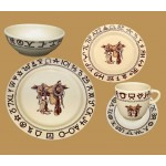 image for Boots & Saddle Western Dinnerware 20-Pc Set
