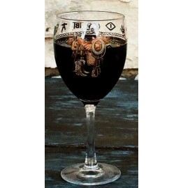 image for Boots & Saddle Brand Wine Glass 8-Pc Set 15.5 oz