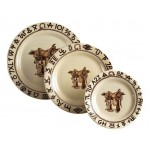 image for Boots & Saddle 3-Pc Western Plate Set