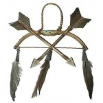 image for Bow & Arrows Indian Southwest Christmas Ornament