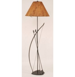 image for Southwest Bow & Arrow Metal Floor Lamp & Shade 61.5 inch