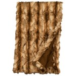 image for Brandy Fox Faux Fur Throw Blanket 54 x 72